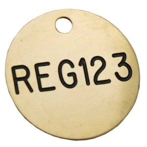 Fleet Registration Tags