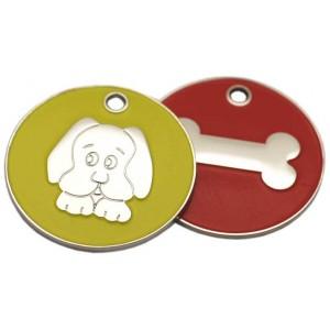 Enamelled Dog Tags