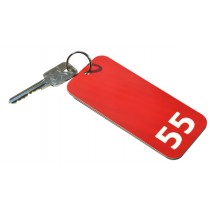 Heavy Duty Extra Large Hotel Key Fob, Various Colours, (Rectangle 125mm x 55mm) **NEW**