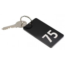 Hotel Key Fob, Various Colours, 75mm x 40mm
