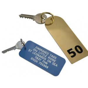 Hotel & Guest House Key Tags
