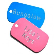 Military Engraved Key Labels