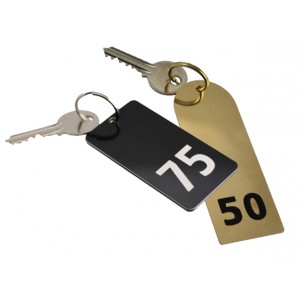 Large Numbered Key Tags