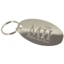Logo on Chrome Plated Tag - One Off Set Up Charge