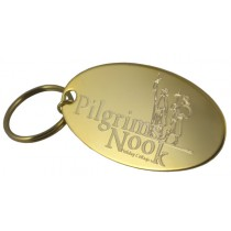 Logo on Gold Plated Tag - One Off Set Up Charge